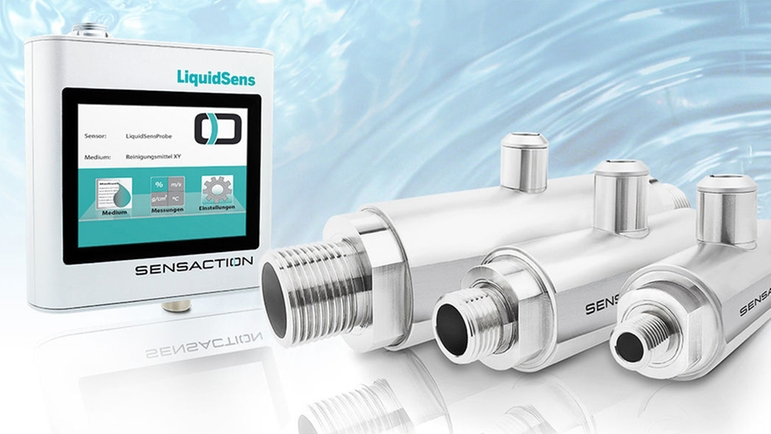 The online version of the LiquidSens measurement system for integration in a plant.