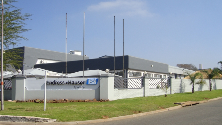 Endress+Hauser Pyrotemp in Benoni / South Africa